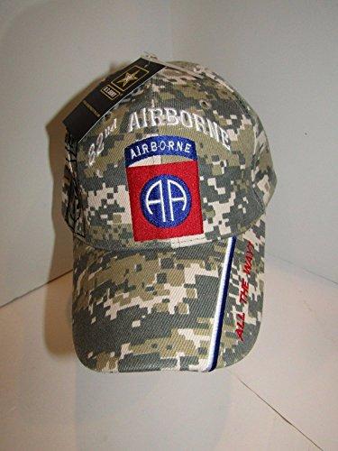 U.S. Army 82nd Airborne All The Way ACU Digital Camo Shadow Baseball Hat Cap