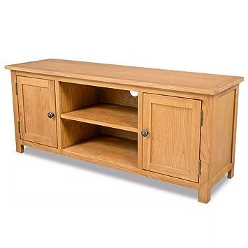 Mueble Grande rústico de Roble para TV, Muebles, Muebles ...