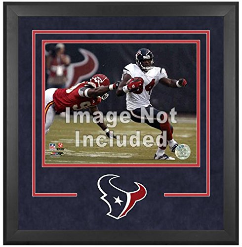 Houston Texans Deluxe 16x20 Horizontal Photograph Frame by Mounted Memories