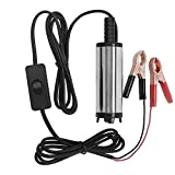 LTC® 12V Submersible Diesel Fuel Water Oil Transfer Pump Mini Refueling Sub MA532 for Car