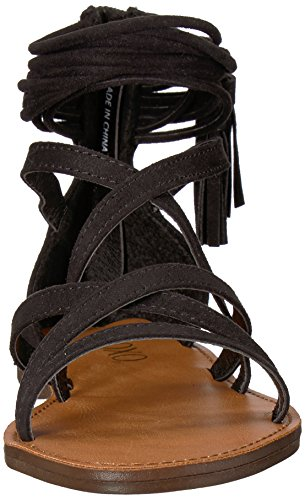 M075 Tan Sandal Black XOXO Cierra Women's US Flat M wtX8X7qnIW