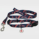 Hunter Boston Red Sox Pet Set Dog Leash Collar ID Tag Large