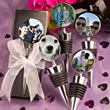 Personalized Photo Collection Wine Bottle Stopper Favors, 18