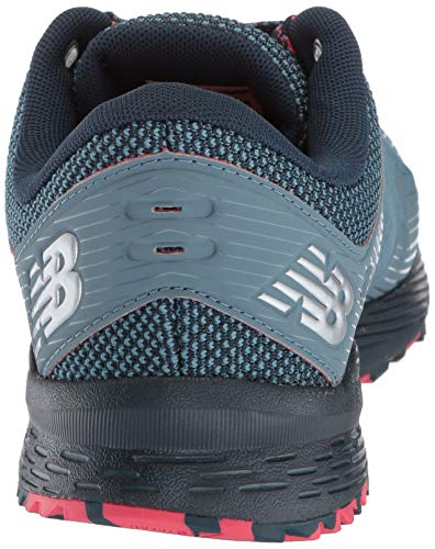 New Balance Women's Nitrel V2 FuelCore Trail Running Shoe Light Petrol/Galaxy/Blossom 6 B US by New Balance (Image #2)