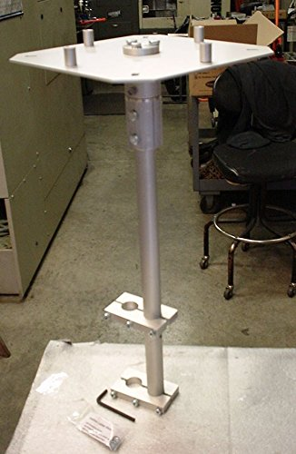 Universal Satellite Dish Ladder Mount With Vertical Lift