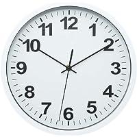 Relógio de Parede Plástico Standart Numbers Urban Branco/Preto