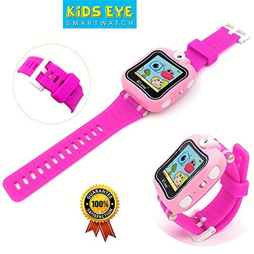 iCore Kids Watch, Durable Smart Watch for Kids, Game Pink Camera Smartwatch, Digital Touch Screen Kid Watches with Alarm Clock Stopwatch, Toys Video Games Girls Boys by iCore (Image #2)