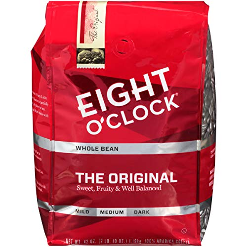 Eight O'Clock Whole Bean Coffee, The Original, 42 Ounce