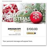 Amazon eGift Card - Merry Christmas (Pine)