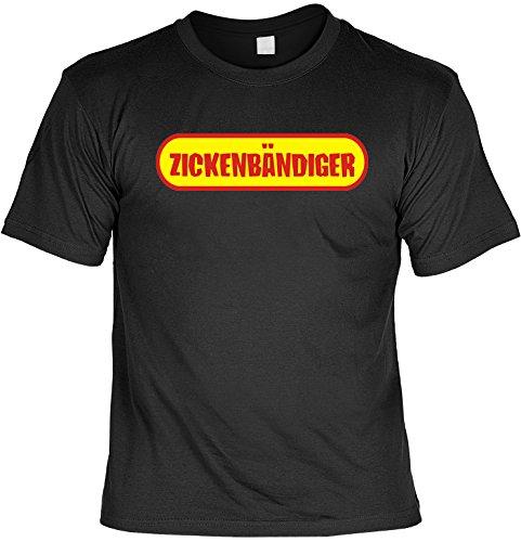T-Shirt - Zickenbändiger - Geschenk Set Funshirt und Mini Shirt für Leute mit Humor