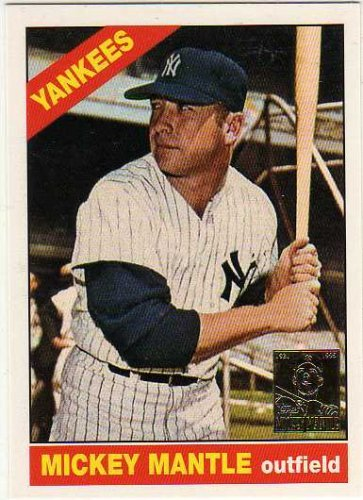 - 1996 Topps Mantle #16 Mickey Mantle 1966 Topps