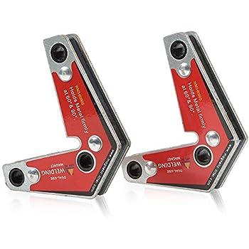 High Quality Strong Welding 60° /& 90° Magnet Corner Magnetic Holder NEW US