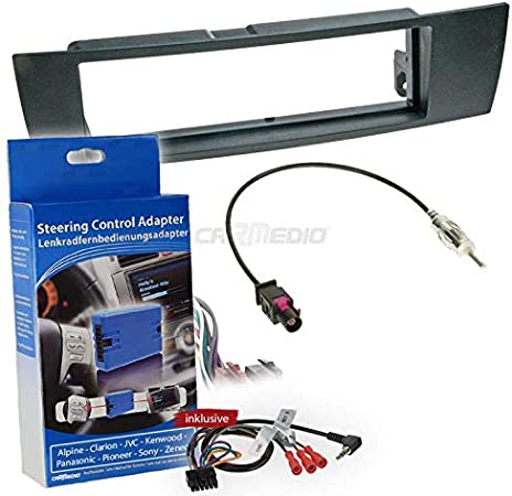 Carmedio Bmw 3er E90 05 11 1 Din Autoradio Einbauset Elektronik