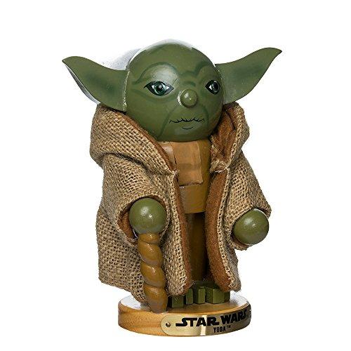 Kurt Adler SW0154 Star Wars Nutcracker, Yoda, 7-1/2-Inch