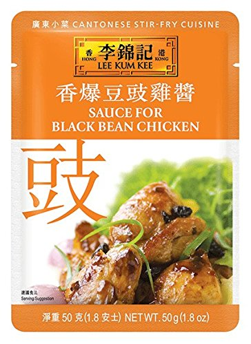 Lee Kum Kee Chicken Sauce - Lee Kum Kee Sauce For Black Bean Chicken, 1.8-Ounce Pouches (Pack of 12)