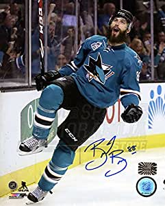 Amazon Com Brent Burns San Jose Sharks Signed Autographed