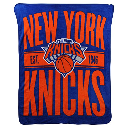 The Northwest Company NBA Clear Out Super Soft Plush Throw Blanket (New York Knicks) ()