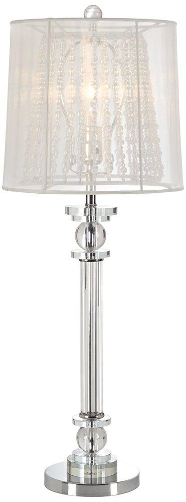 Isetta double shaded glass column console lamp table lamps isetta double shaded glass column console lamp table lamps amazon aloadofball Choice Image