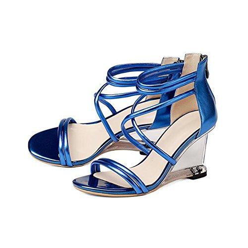 Moda De Zapatos Yxiny Tacones Tacón Dedo SraElegante Del Sandalias SMLqUpVGz