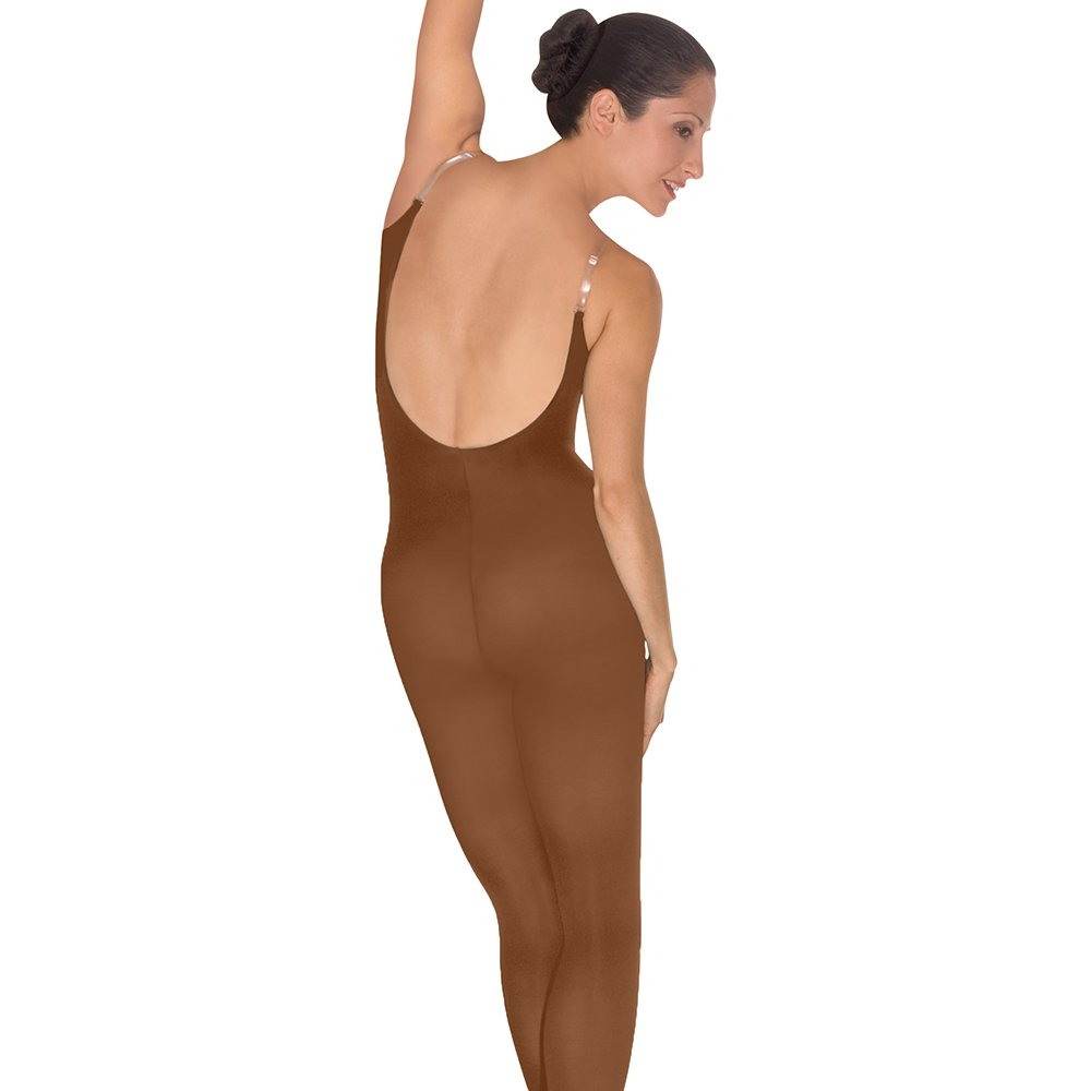 Body Wrappers A91 TotalSTRETCH Convertible Foot Camisole Body Tights