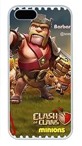 iCustomonline Case for iPhone 5S PC, Clash Of Clans Ultimate Protection Case for iPhone 5S PC