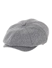 WITHMOONS Newsboy Hat Wool Felt Simple Gatsby Ivy Cap SL3458