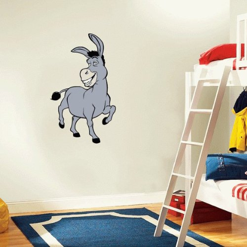 Shrek Donkey Cartoon Wall Decal Sticker 15