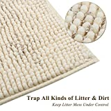 "Vivaglory 35""× 25"" Extra Large Litter Mat, Super"