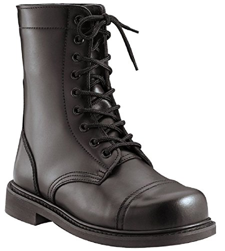 New Combat Boots Black Military Style 9