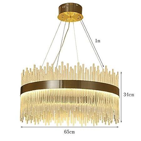 Amazon.com: Lámpara de techo de candelabro con luz LED ...
