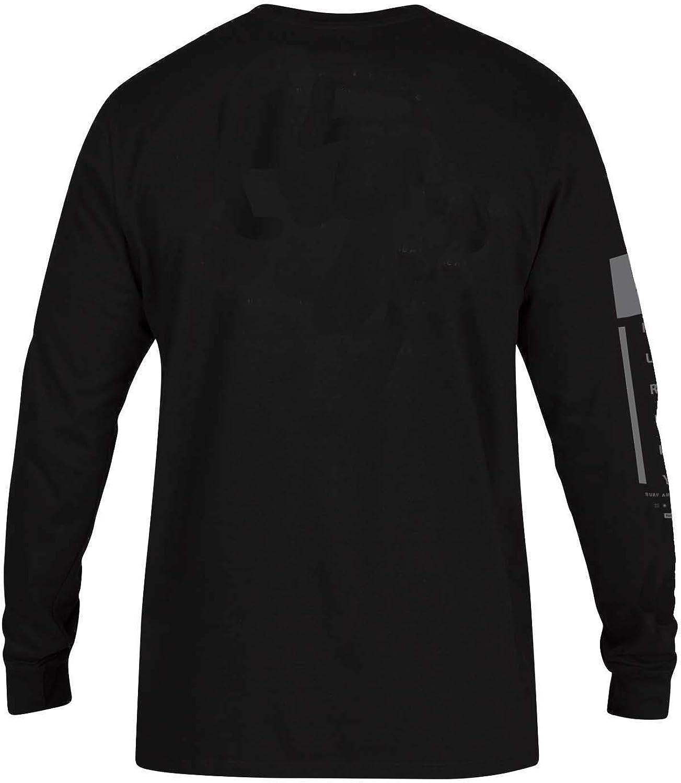 Hurley Mens Premium Arm Long Sleeve Tshirt