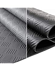 ANRO rubberen mat beschermmat noppenmat vloermat met noppen rubberen loper 100cm