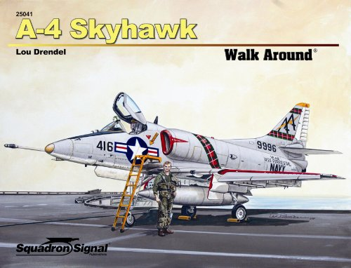 A-4 Skyhawk Walk Around (Walk Around Series) (Skyhawk Series)