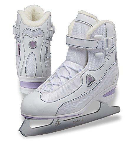 Jackson Ultima Softec Vantage PlusST7000 Ice Skates with MARK II blades - White, Size 5 - Jackson Skate Boots