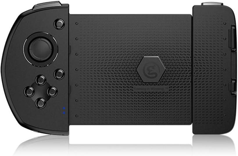 WUYANJUN Gamepad inalámbrico Recargable, Controlador, Clip de Juego elástico con Joystick, Controladores de Juegos, con teléfono Android, Tableta, TV, TV Box, Receptor Bluetooth para PC