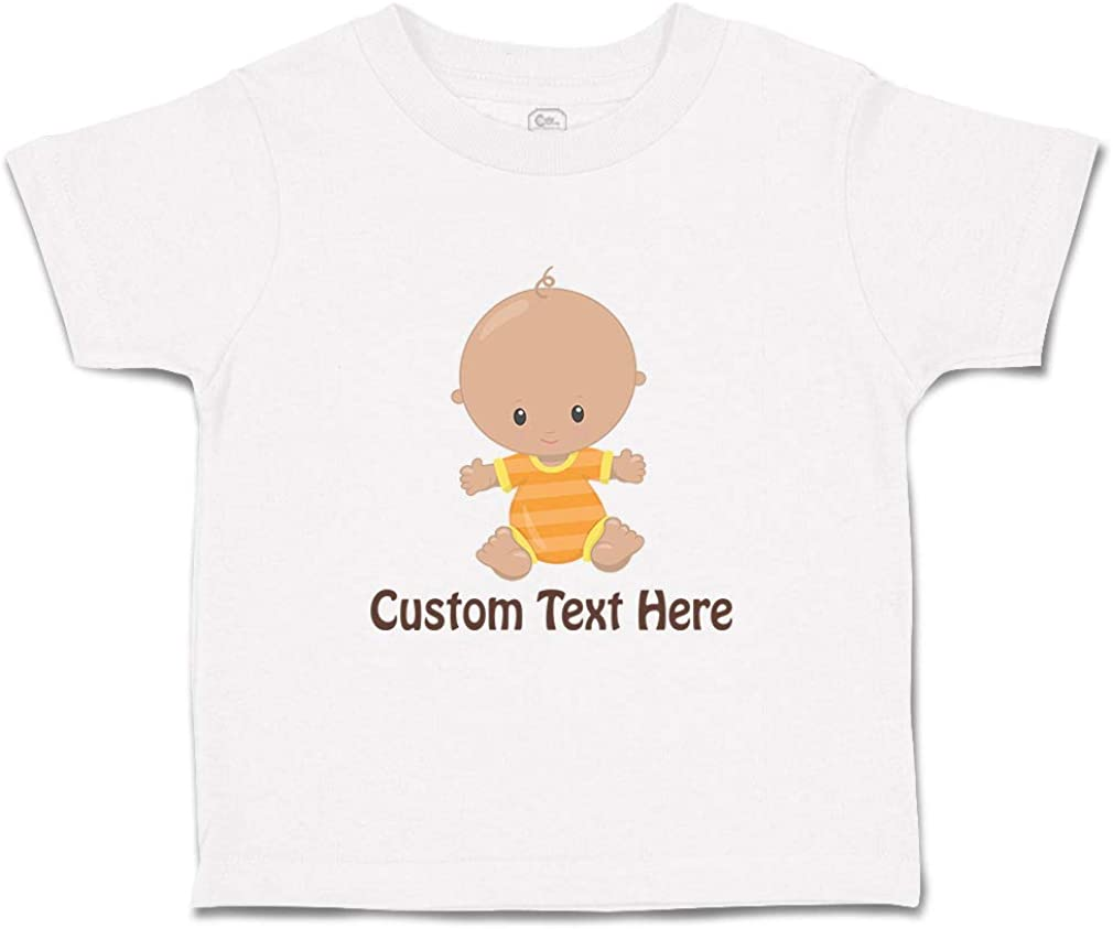 Custom Baby /& Toddler T-Shirt Baby S Cotton Boy /& Girl Clothes Funny Graphic Tee