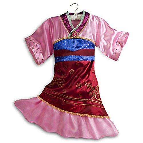 Disney Store Mulan Costume Dress Halloween Size M Medium 7 - -