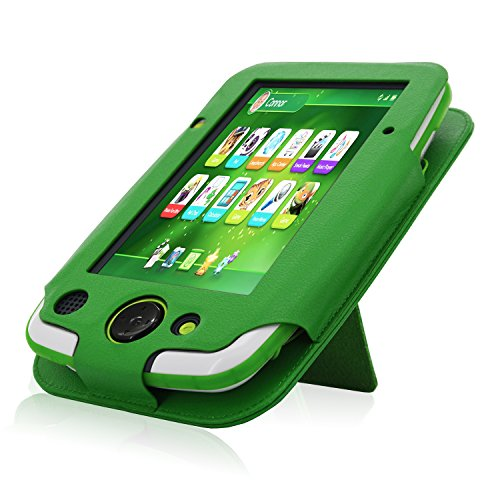 ACdream LeapPad Platinum Case, PU Leather Cover Case for LeapFrog LeapPad Platinum Kids Learning Tablet (NOT FIT LeapPad3), Green by ACdream (Image #4)
