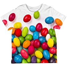Halloween Jelly Beans All Over Toddler T Shirt