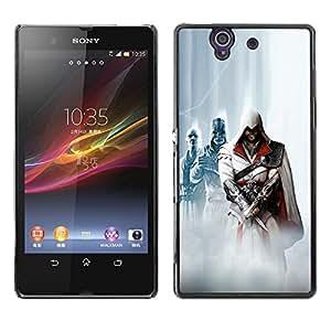 Asesinos OYAYO Sony Xperia Z L36H //Dise?os frescos para todos los gustos! Top muesca protección para su teléfono inteligente!