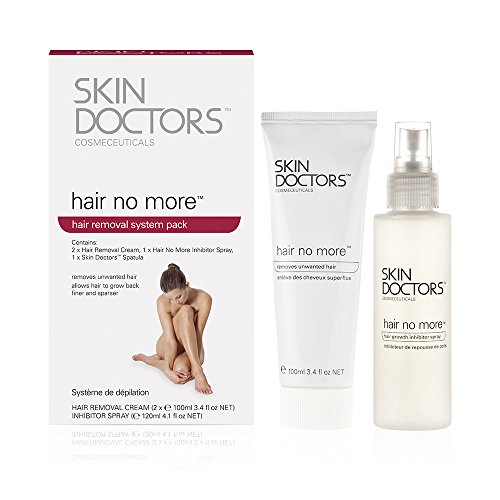 Skin Doctors Hair No More Hair Removal System Pack (Hair Doctors Skin More No)