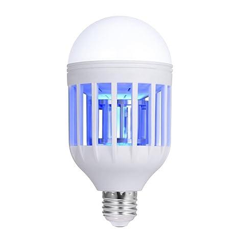 Bombilla LED para mosquitos o moscas de interior y exterior, para casa, cocina,