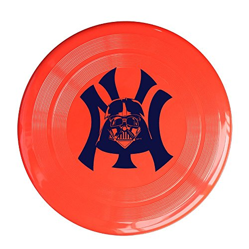 XJBD Unisex New York NY Outdoor Game, Sport, Flying Discs,Game Room, Light Up Flying, Sport Disc ,Flyer Frisbee,Ultra Star Red One Size