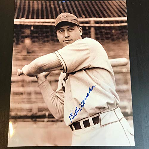 Billy Herman Signed Autographed 8X10 Baseball Photo Hall Of Fame Chicago Cubs