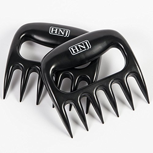 HNJ CLEVER CLAWS - Best Shredding Tool for Pulled Pork, Beef, and Chicken - 1 Year Replacement Guarantee by HNJ Products