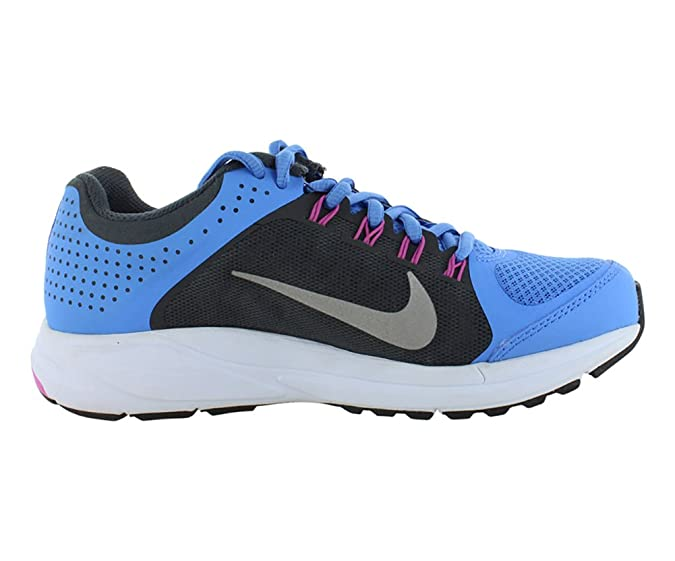 Amazon.com | NIKE Women Zoom Elite+ 6 Running Shoe, BluAnthrcitClubPnkReflect Silver, 8 B M US | Road Running