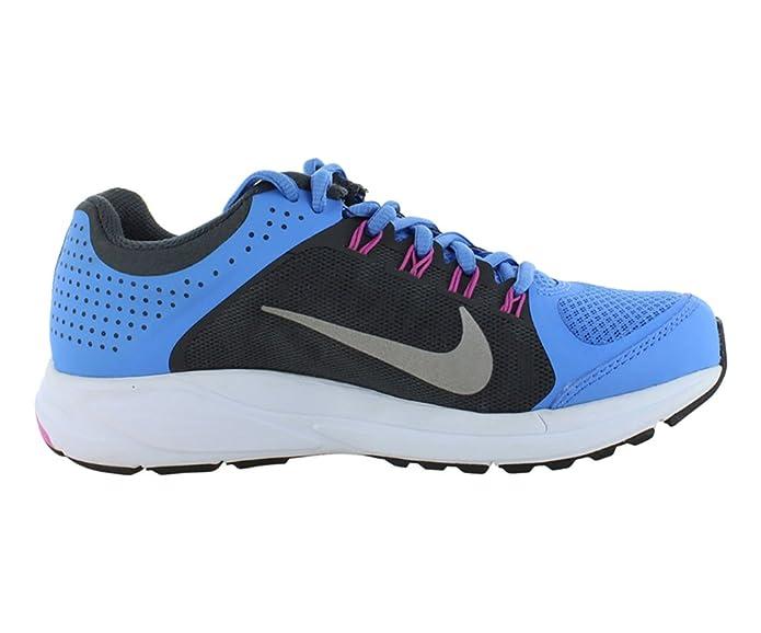 Amazon.com | NIKE Women Zoom Elite+ 6 Running Shoe, BluAnthrcitClubPnkReflect Silver, 8 B M US | Road Running