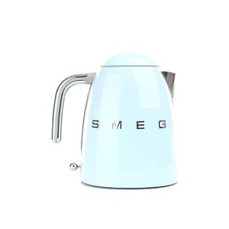 SMEG Calentador de Agua electrico, hervidor KLF03PBEU, 2400 W, 1.7 litros, Acero