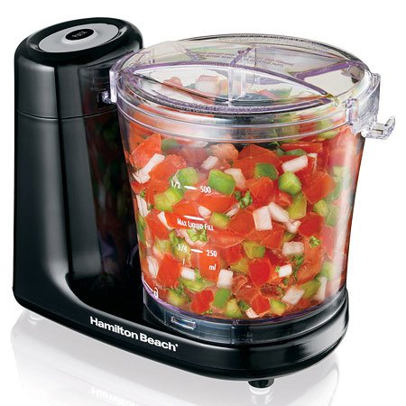 Hamilton Beach 3-Cup Food Chopper Black 72900
