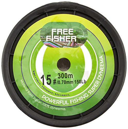 intrecciato FREEFISHER da Free Fisher pesca Filo verde wPq5tB5